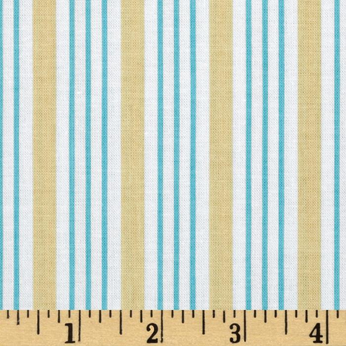 Song Bird Stripe Blue