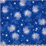 Disney Dreams Flannel Blue