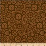 209436 Riley Blake On The Go Gears Brown