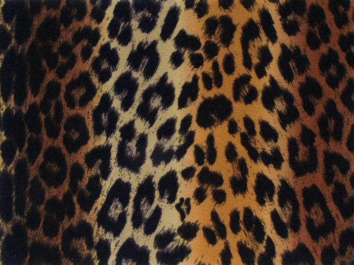 Printz Felt 9&#39;&#39; x 12&#39;&#39; Craft Cut Brown Leopard