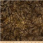 Tonga Batik Mocha Kiss Coffee Fern