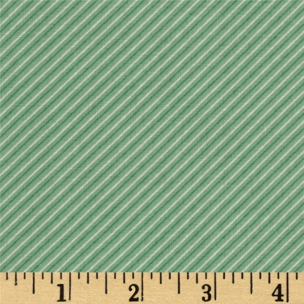 Moda Odds &amp; Ends Necktie Diagonal Stripe Sky