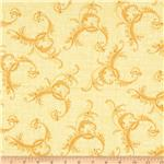 Botanica II Spring Paisley Yellow