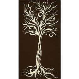 Camelot Wildwood Tree Panel Brown