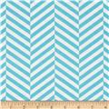 Design Studio Herringbone Blue