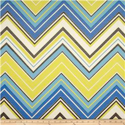 Claridge Surf Chevron Jacquard Lake Blue