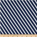 0274190 In the Navy Rugby Stripe Navy