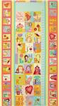 FU-031 Curiosities Growth Chart Panel Lollipop Pink