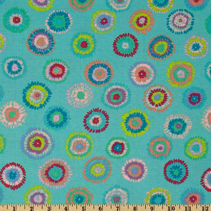 Kaffe Fassett Collective 2012 Pink Turquoise