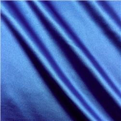 Stretch Charmeuse Satin Royal
