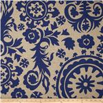 221064 Premier Prints Suzani Blue/Denton