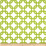 Premier Prints Gotcha White/Chartreuse