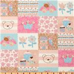 Flannel Patchwork Girl Pink