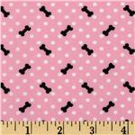 High Style Dots &amp; Bones Pink