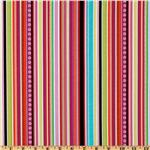 Michael Miller Pretty Stripe Cocoa