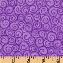 Snow Friends Swirl Purple