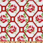 EY-058 Sugar Hill Rose Trellis Red