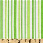 0273651 Moda Ticklish Laughing Stripes Giggle Green