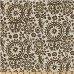 DY-753 Premier Prints Royal Suzani Blend Kelp/Flax
