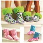 KP-3926 Kwik Sew Adults &amp; Children&#39;s Snuggly Slippers (3926) Pattern