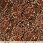 UF-642 Premier Prints Paisley Stucco/Natural