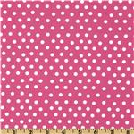 FF-142 Moda Welcome To Bear Country Dot Pink