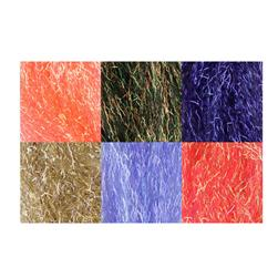 Angelina Crimped Cut Fibers Sunset Blend 6 Piece Assortment