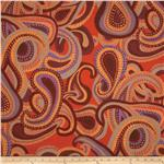0281827 Brandon Mably Fall 2011 Flannel Dancing Paisley Blue
