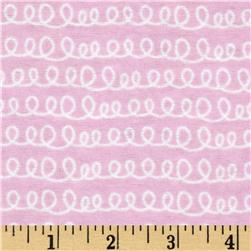 Bundle Of Joy Flannel Spirals Pink