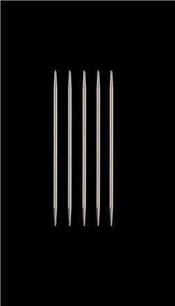 HiyaHiya Steel 4'' Double Pointed Knitting Needles US 3 (3.25mm)