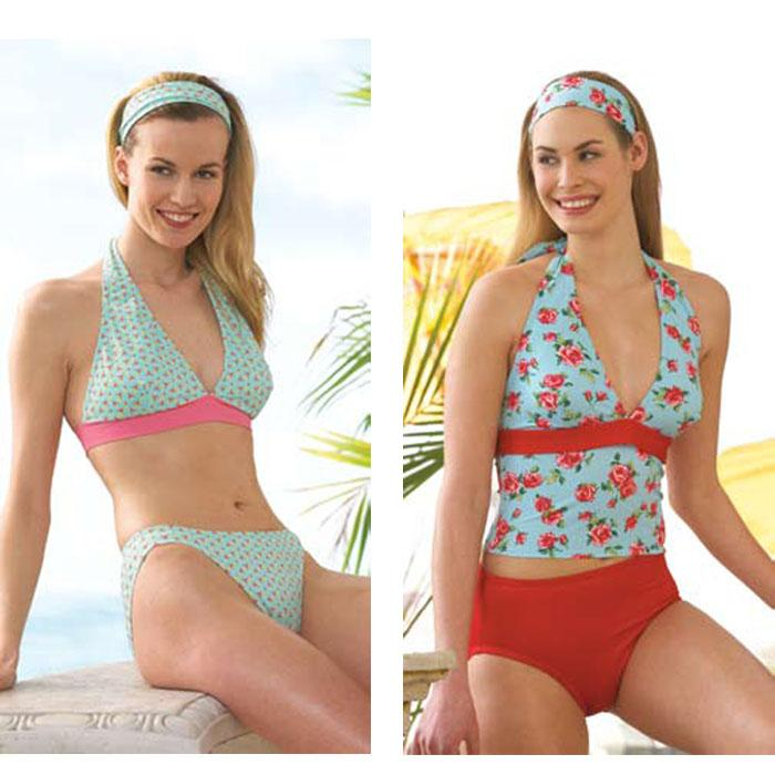 Kwik Sew Misses Swimsuit Pattern