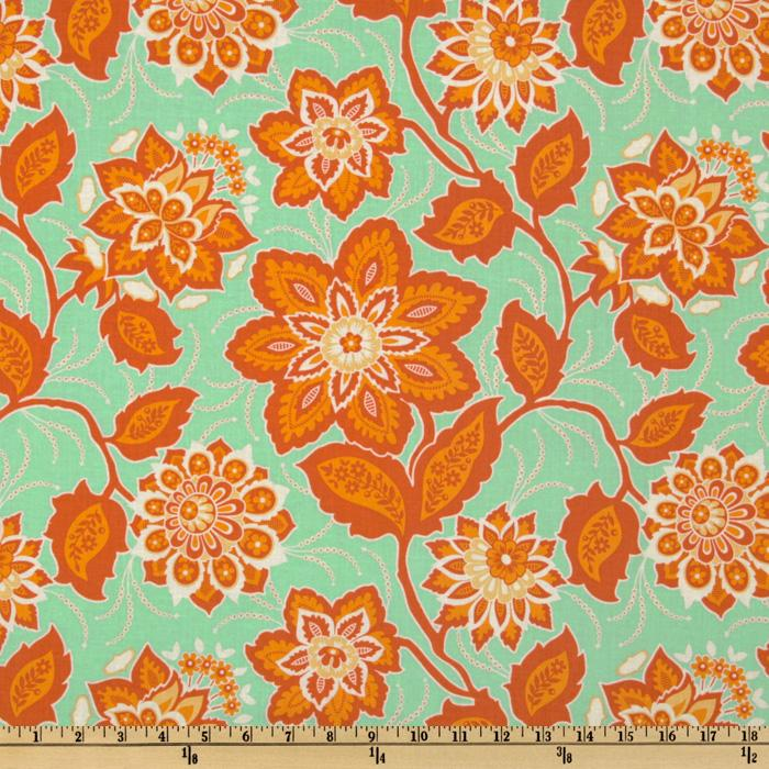 Joel Dewberry Heirloom Ornate Floral Amber