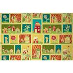 0274289 Marmalade Cottage Sampler Houses/Flowers Multi