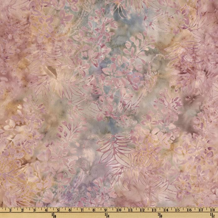 Batavian Batiks Floral Rose/Cream