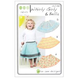 Olive Ann Designs Whirly Girly & Bella Skirt Pattern