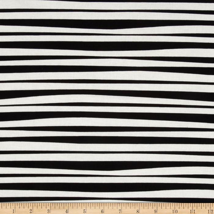 Monkey's Bizness Stockade Stripe Black/White