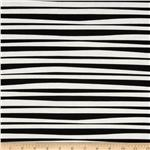Monkey&#39;s Bizness Stockade Stripe Black/White