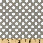 200236 Riley Blake Dots Small Grey