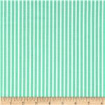 0273695 Moda Posy Stripe Lily Of The Valley Green