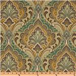UN-809 Richloom Solarium Outdoor Grovedale Paisley Peridot