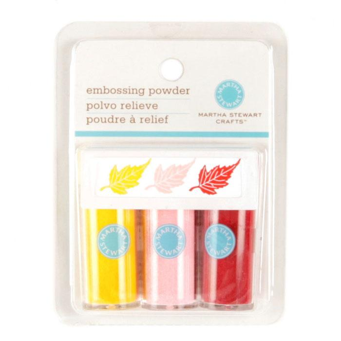 Martha Stewart Crafts Essentials Embossing Powder Pastels