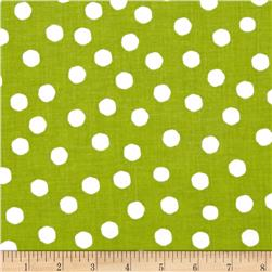 Loralie Fast Women Jumbo Dots Green/White