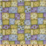 Garden Gifts Patchwork Flowers Yellow/Multi