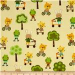 0264553 Creatures & Critters Animals On The Move Cream