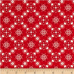 Riley Blake Sasparilla Bandana Red
