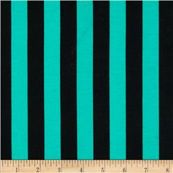 Ponte De Roma Knit Stripe Mint/Black