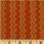 Cassandra Zig Zag Stripe Spice