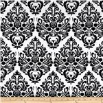 206363 Jessie Steele Collection Damask Black/White