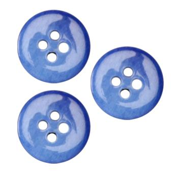 Fashion Button 5/8&#39;&#39; Anaheim Royal Blue