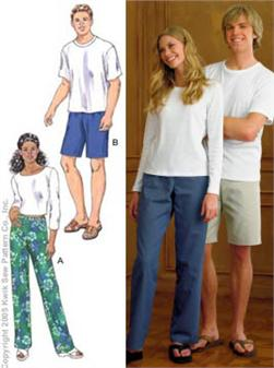 Kwik Sew Unisex Adult Pants Pattern